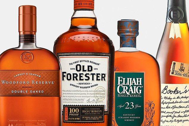 2. Kentucky'de bulunan insanların sayısı (4.3 milyon) viski varili sayısından (4.7 milyon) azdır.