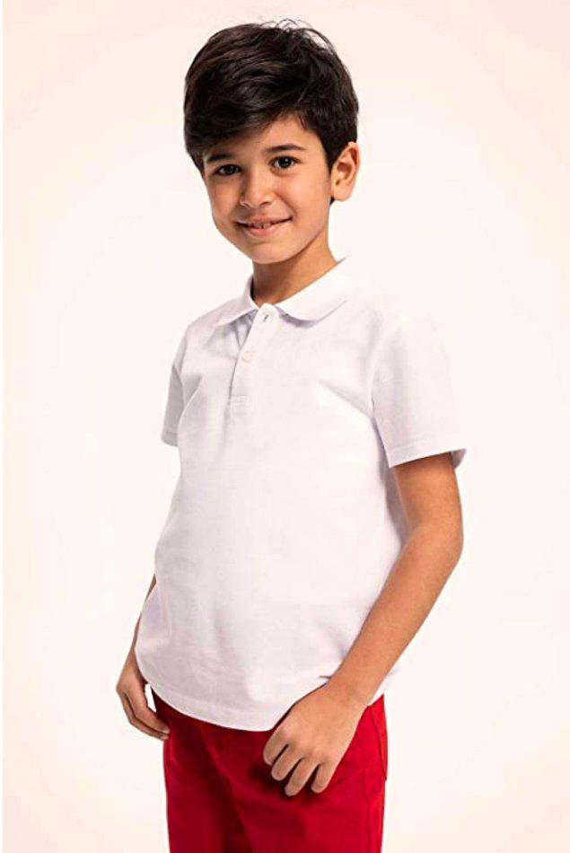 10. Okulda lazım olabilen bu polo yaka t-shirtlerden dolabınızda mutlaka bulunsun.