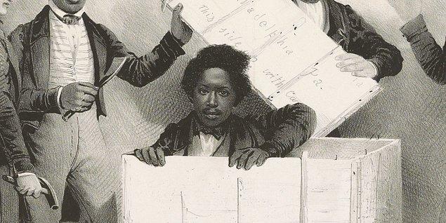 Henry Brown, 1816 yılında Virginia'da yer alan Hermitage Plantasyonunda doğan bir köle...