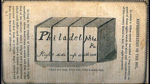 Kendisini bir kutuya koyarak özgürlüğüne postalamaya karar veren Henry, Samuel Smith isimli bir adamın yardımı ile planını uygulamaya başladı.