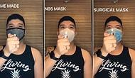 Парень провел простой эксперимент с 6 различными масками, чтобы показать, насколько они эффективны