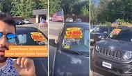 ABD'deki Araba Fiyatları ile İlgili Video Çeken Adamı İzlerken Biraz Moraliniz Bozulabilir