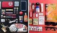 Рубрика: что в ее сумочке. 20 разных девушек показывают нам, что находится внутри их сумочек