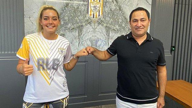 UEFA Kadınlar Şampiyonlar Ligi'nde mutlak başarı hedefleyen ALGSPOR'un da Aycan transferiyle bu turnuva için iddialı bir kadro hedefine yaklaşacağı dile getiriliyor.