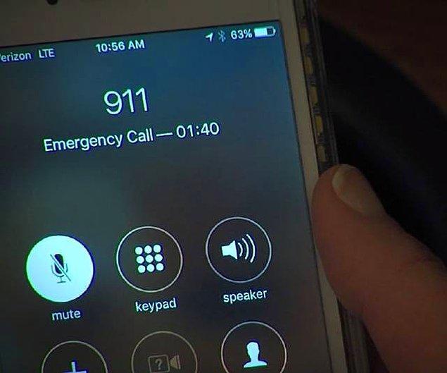 Polisler herhangi bir durumu ve kişiyi riske atmak istemedikleri için ihbarı işleme alıyor ve belirtilen adrese ekibi gönderiyor.