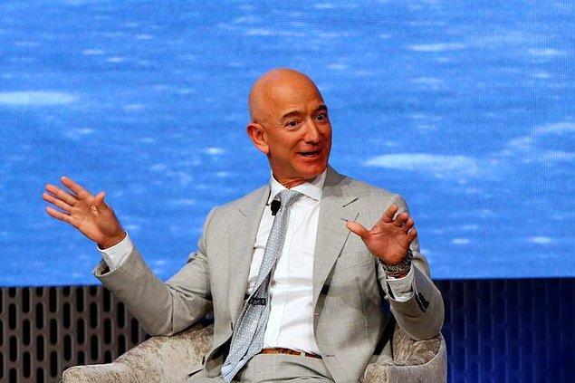 10. Jeff Bezos - 205 Milyar $