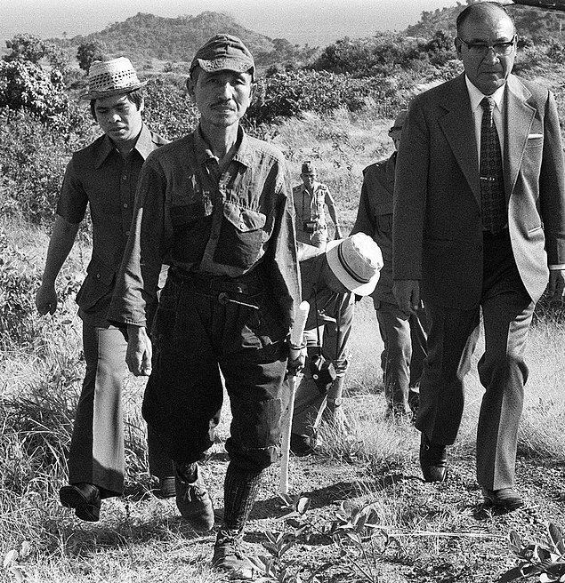 Hiroo, en son teslim olan sondan ikinci Japon askeriydi.