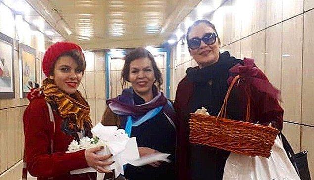 Asit saldırılarına karşı kampanya yürüten Yasaman Aryani, Monireh Arabshahi, Mojgan Keshavarz gibi kadınlar protestoları yüzünden hapisteler.