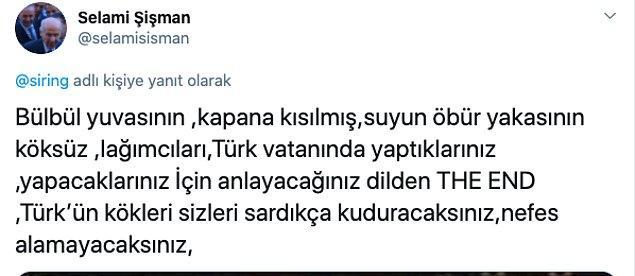 """MHP Merkez Yönetim Kurulu Üyesi Selami Şişman """"Türk'ün kökleri sizleri sardıkça nefes alamayacaksınız"""" dedi..."""