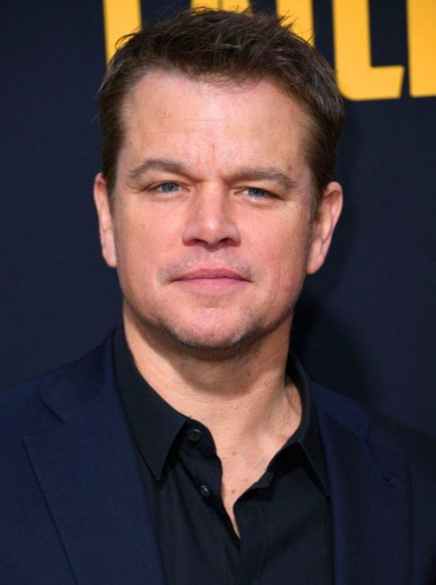 3. Matt Damon