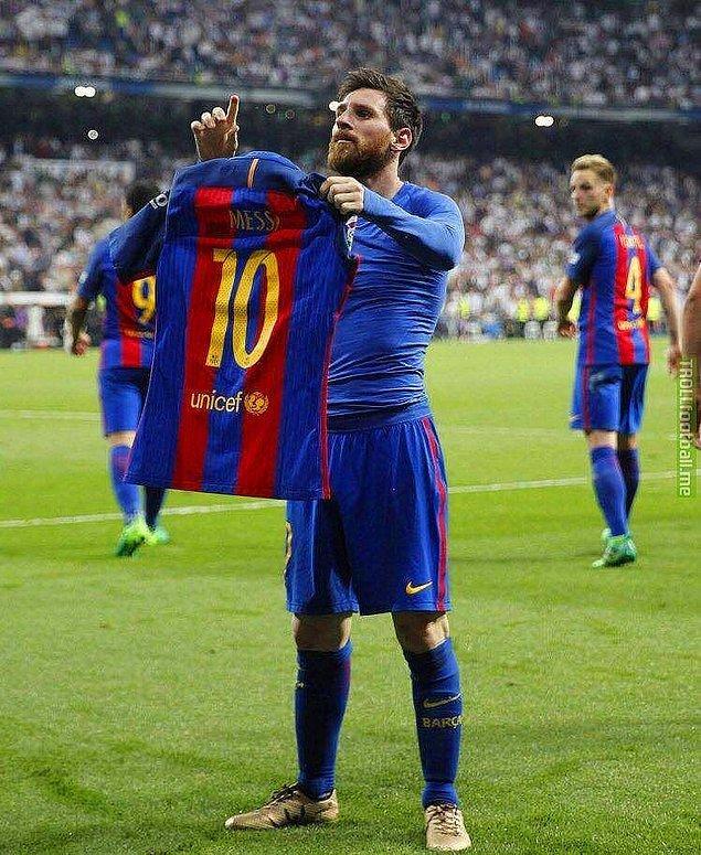 Messi Değildi!