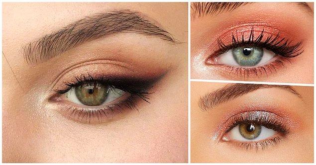 Badem Gözler: Dumanlı göz makyajı tam senlik!