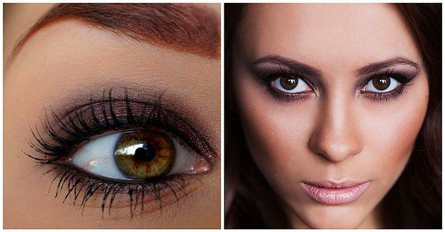 Birbirine Uzak Gözler: Göz pınarında daha koyu tonlar!