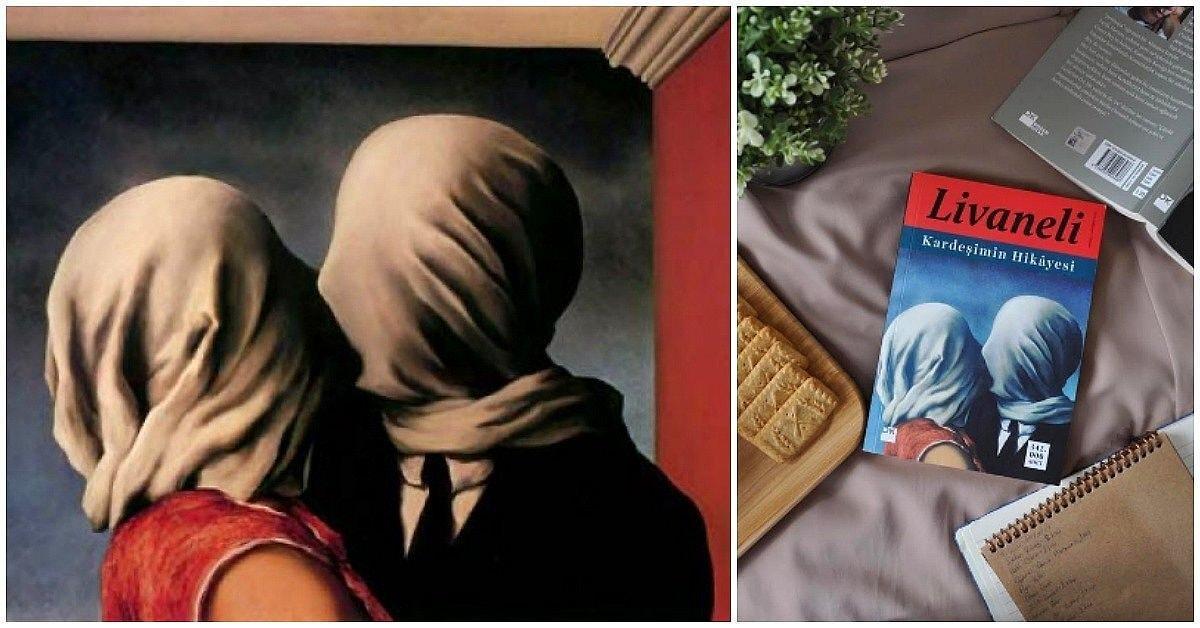 Zülfü Livaneli'nin Kardeşimin Hikayesi Adlı Kitabının Kapağını da Süslemiş  Olan René Magritte'nin 'Aşıklar' Tablosu - onedio.com