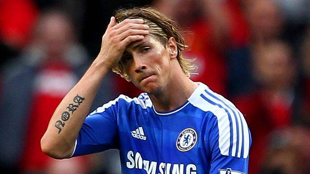 1. Fernando Torres - Chelsea