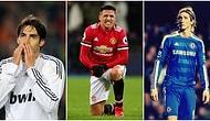 Çok Büyük Beklentilerle Transfer Edilmelerine Rağmen Beklentileri Karşılayamayan 20 Futbolcu