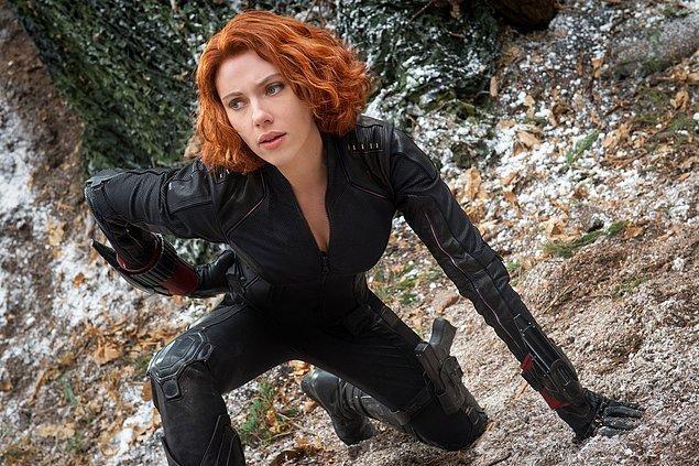 2. Scarlett Johansson - Avengers: Age of Ultron