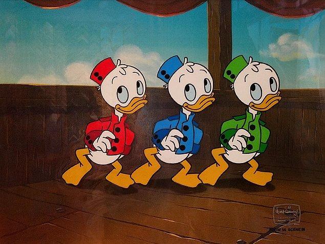 Donald Duck'ın yeğenleri Huey, Louie ve Dewey'in dayılarıyla yaşamasının altında trajik bir hikaye yatıyor.
