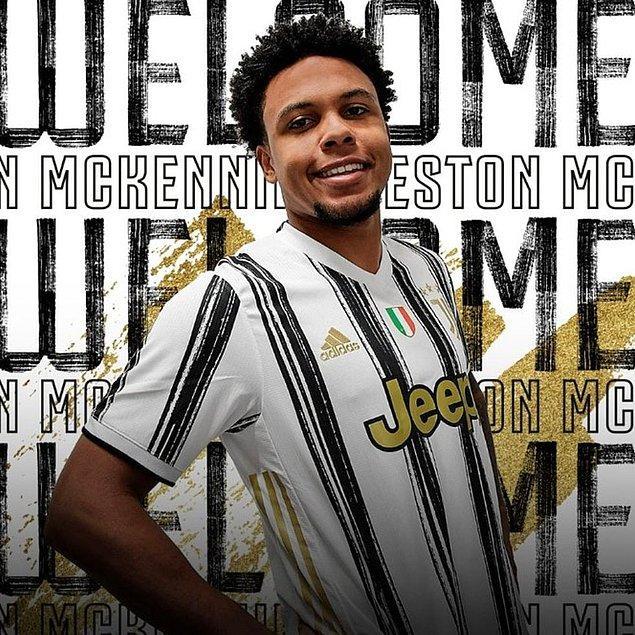 6. Wenston McKennie / Schalke 04 ➡️ Juventus