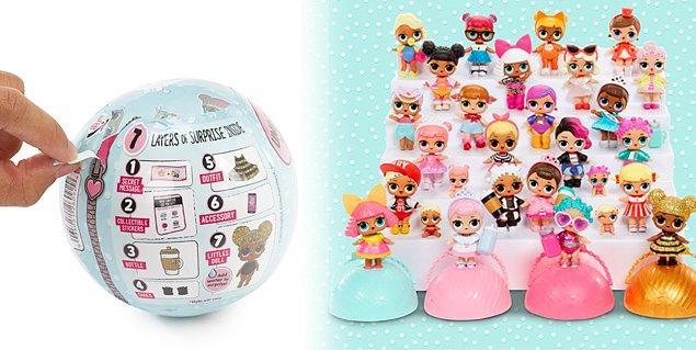 1. En az 7 aşamada açılan L.O.L. Surprise markasının oyuncak açımında sürpriz konseptinin yaratıcısı olduğunu biliyor muydunuz? Giochi Preziosi'nin 2017 yılında Türkiye'ye getirdiği L.O.L. Surprise markası birçok dünya devi markaya da ilham kaynağı oldu!