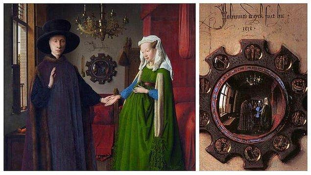 2. 'Arnolfini'nin Evlenmesi', Jan van Eyck