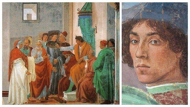11. 'Simon Magus ile Anlaşmazlık ve Peter'ın Çarmıha Gerilmesi', Filippino Lippi