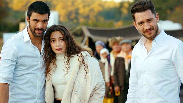 Neslihan Atagül, Engin Akyürek ve Uraz Kaygılaroğlu'nun başrollerini paylaştığı Sefirin Kızı dizisi geçen sene çetin bir rakip oldu.