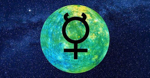10. Çarşamba ve Merkür gezegeninin astrolojik sembolleri aynıdır.
