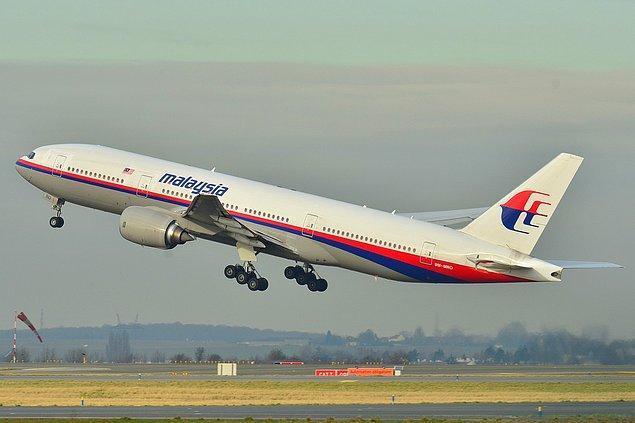 1. MH370 sefer sayılı kayıp Malezya uçağı