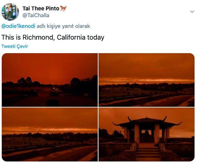 """18. """"Burası bugün Richmond, Kaliforniya"""""""