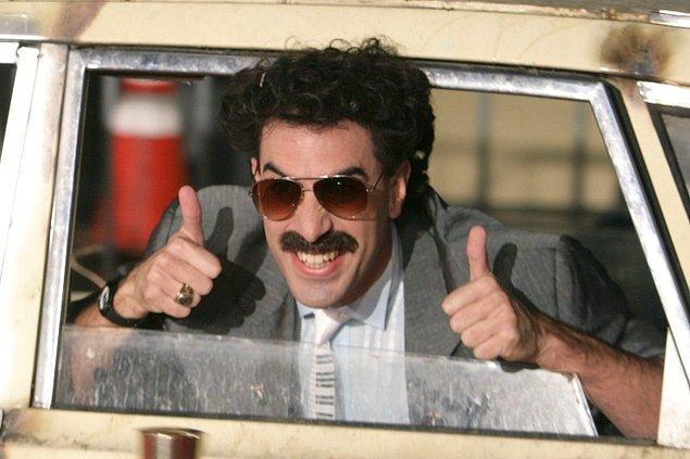 5. Sasha Baron Cohen, 2006 yılında gösterime giren Borat'ın devam filminin çekimlerini gizli bir şekilde tamamlandığını açıkladı.