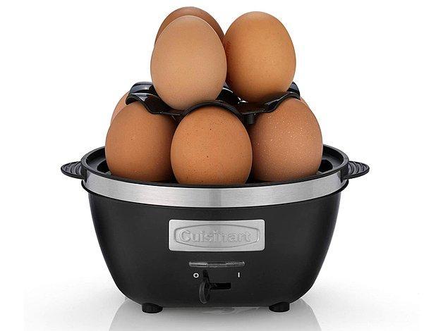 16. Damak zevkinize göre yumurtanızı pişirin.
