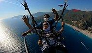 Torunlarını Kıramayıp 100 Yaşında Yamaç Paraşütü Yapan Kadın