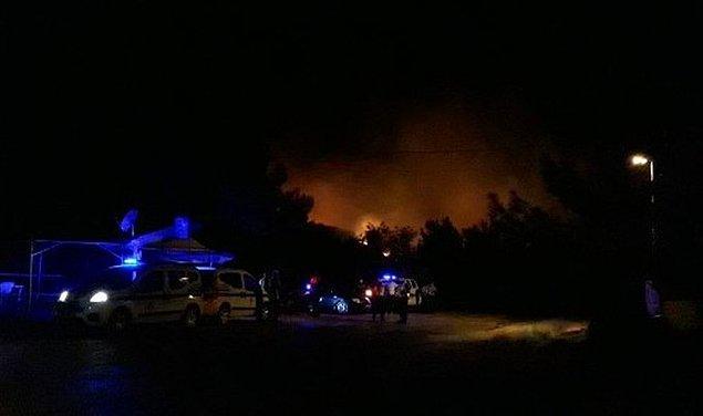 Şıldak, yangın bölgesine hareket ettiğini, bölgede incelemelerin ardından net bilgilerin edinileceğini kaydetti.