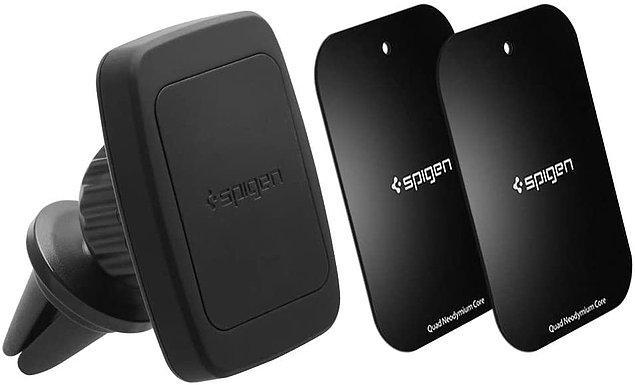 17. Telefonun navigasyonunu kullanırken bu araç içi telefon tutucular çok faydalı oluyor.