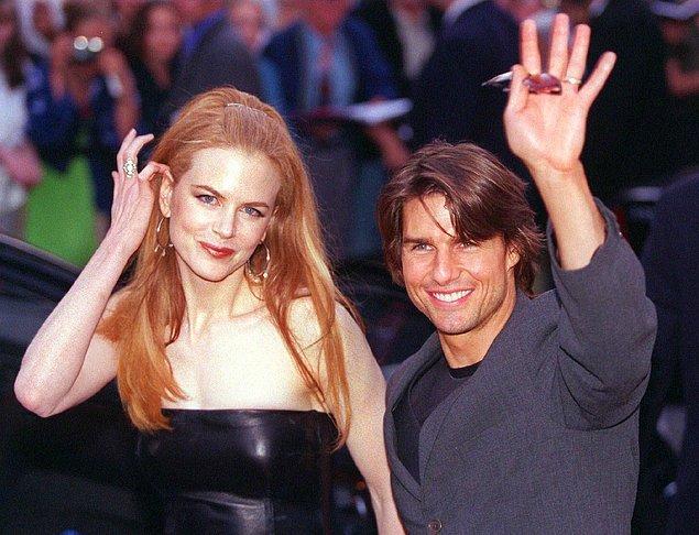 11. Nichole Kidman ile eski eşi Tom Cruise'un arasında tam 10 cm fark bulunuyordu.