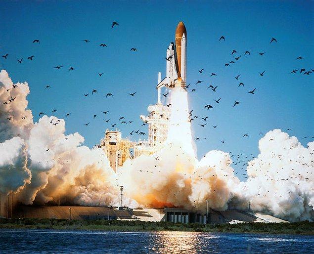 20. Uzay mekiği Challenger'ın astronotları, uzay aracı okyanusa düşene kadar hayattaydı.