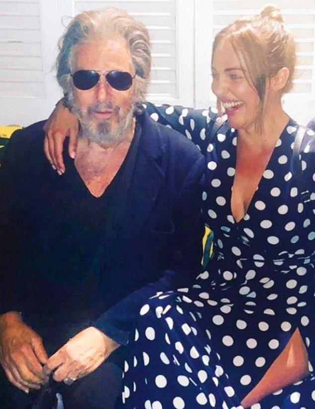 10. Meryem Uzerli, dünyaca ünlü oyuncu Al Pacino tarafından yeni bir film projesi için Los Angeles'a davet edildi!