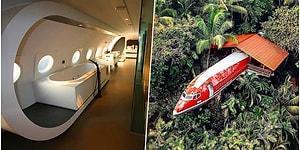 Дома-самолеты - новая тенденция для тех, кто отказывается жить в обычном жилище