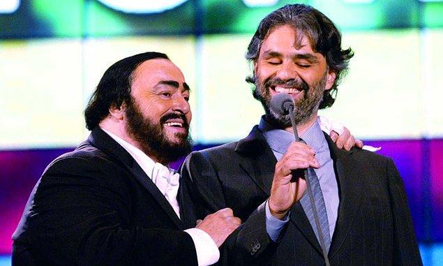 Kader onları bir Pavarotti ile bir araya getirdi.