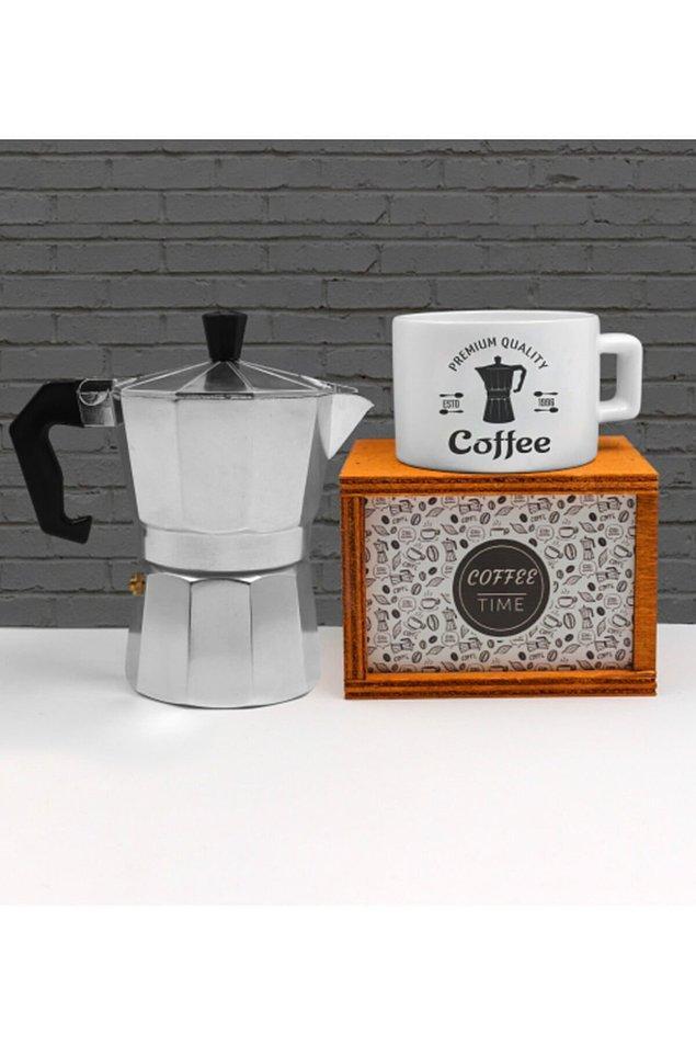 13. İşte espresso tiryakilerine alabileceğiniz en harika armağan bu. 👇