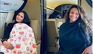 Ванесса Брайант и Сиара поделились милым фото, где они кормят грудью своих малышей