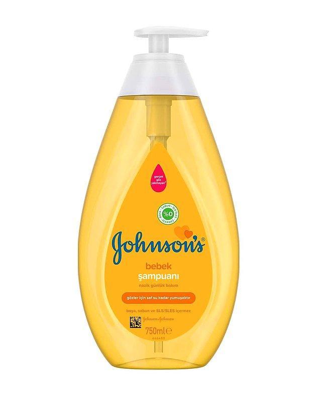 9. Bebek şampuanı her evin ihtiyacı. İster şampuan isterseniz de yüz yıkama jeli olarak kullanabilirsiniz.