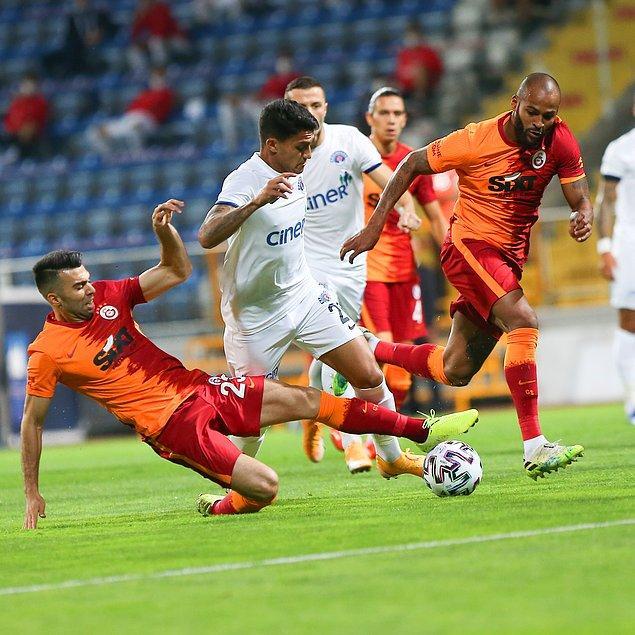 Süper Lig'de haftanın kapanış maçında Galatasaray ile Kasımpaşa karşı karşıya geldiler.