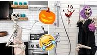 Скелеты в шкафу и не только: Риелтор из США населила дома скелетами к Хэллоуину, и это гениально (9 фото)
