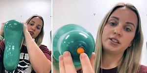 Видео, в котором учительница демонстрирует процесс родов с помощью шара, моментально стало вирусным в TikTok