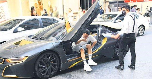 Nişantaşı'nda alışveriş yaptıktan sonra bindiği 1 milyon 350 bin liralık BMW model arabası çok konuşulmuştu. YouTuber olursanız siz de aylık 400 bin lira kazançla böyle arabalara binebilirsiniz...