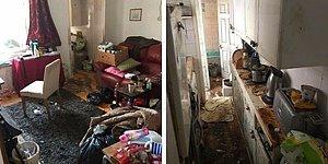 50 часов работы: Служба уборки делится фотографиями дома пожилого вдовца до и после его преображения
