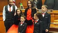 Отец-одиночка усыновил пятерых приемных братьев и сестер, чтобы они могли оставаться вместе