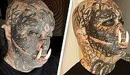 Татуировщик из Бразилии вставил себе бивни, чтобы еще больше стать похожим на орка